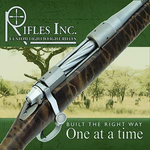 rifles inc logo custom light weight rifles